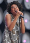Corinne Bailey Rae Wembley Stadium 2007